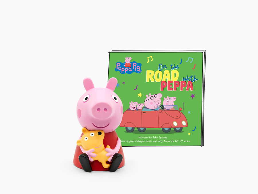 On the road with Peppa Pig Tonie