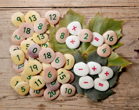 Number Pebbles Sum Building Set