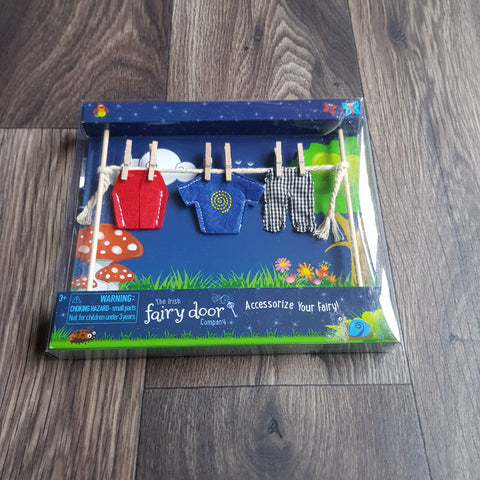 Fairy Washing Line from The Irish Fairy Door Company