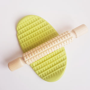 Rolling Pin - Square Print - Playdough Accessorie