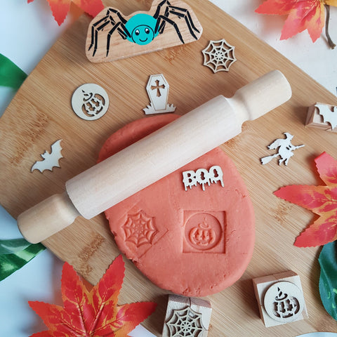 Hello! Playdough! Halloween Orange Pumpkin Spice Playdough
