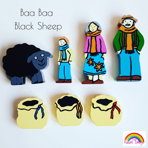 Nursery Rhyme Baa Baa Black Sheep