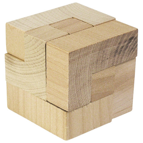 Puzzle Cube Wooden Toy