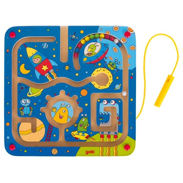 Space Magnetic Maze Board