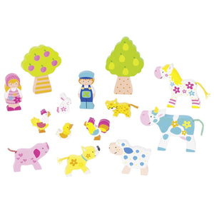 Susibelle Farm Figures