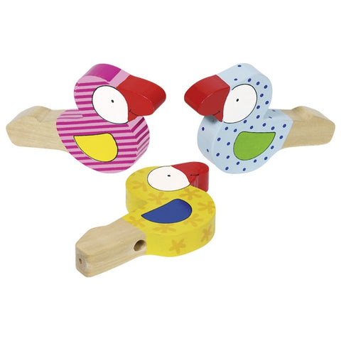 Musical Bird Wooden Toy