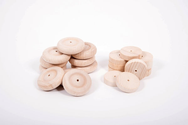Wooden Wheels 40mm & 50mm