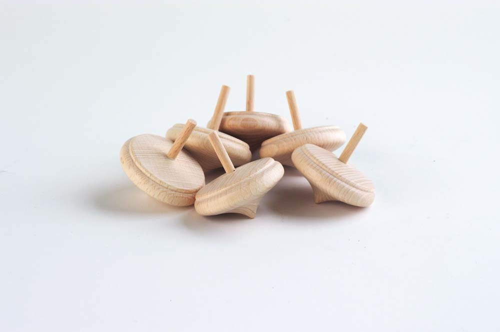 Wooden Onion Spinning Top 50mm