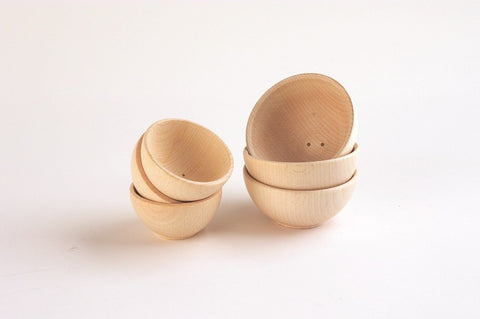Wooden Bowls 70mm & 92mm
