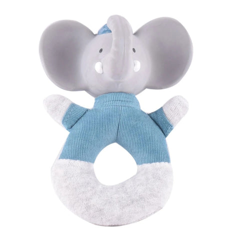 Elephant Plush Soft Rattle