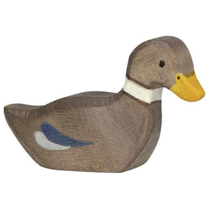 Holztiger Brown Duck Swimming 80024