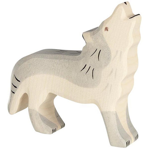Holztiger Wolf Howling 80109