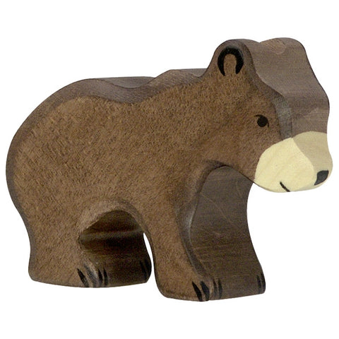 Holztiger Brown Bear Small 80185