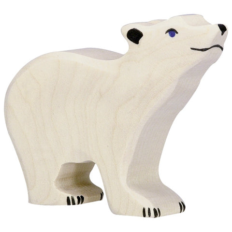 Polar Bear Small Head Raised 80209