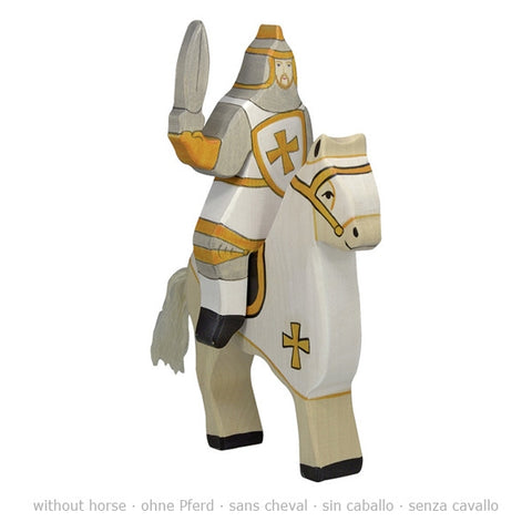 Holztiger Tournament Knight White (Without Horse) 80256