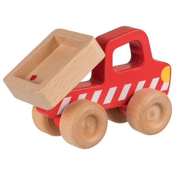 Red Dump Truck Wooden Toy