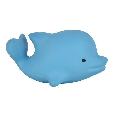 My 1st Tikiri Ocean Buddies Dolphin – Natural Rubber Rattle & Bath Toy