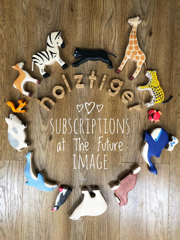 Holztiger 6 Month Subscription 2-4 figures per month