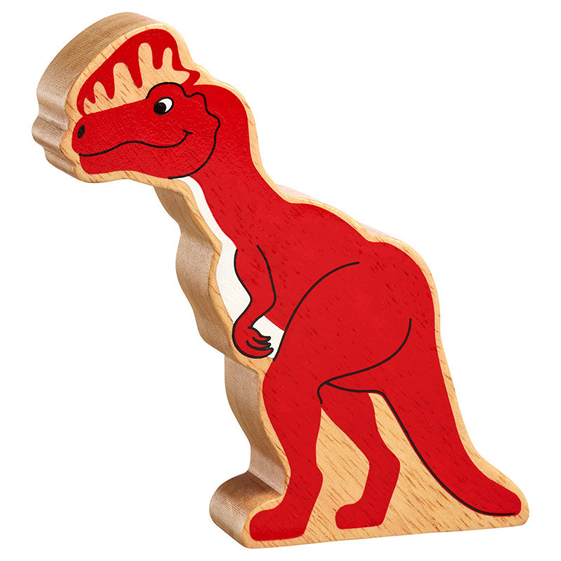 Lanka Kade Natural Red Diloposaurus Dinosaur