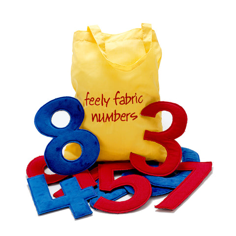Feely Fabric Numbers
