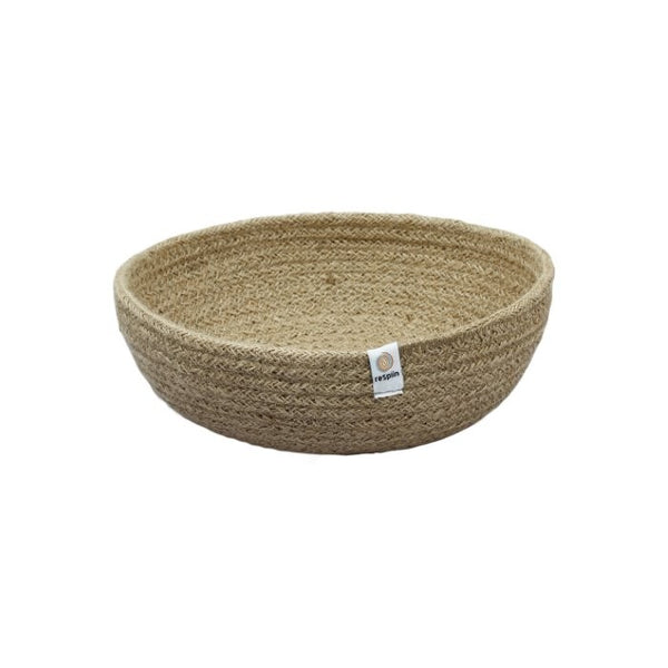 reSpiin Jute Bowl - Medium - Natural