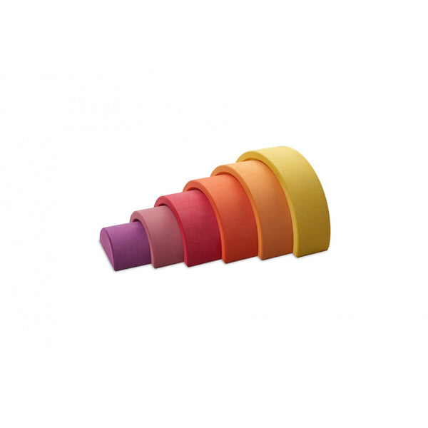Ocamora 6 Piece Rainbow Arch Yellow