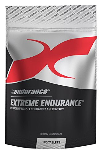 2018 Xendurance Extreme Endurance | Reduces Lactic Acid & Muscle Soreness | 180 Tablets