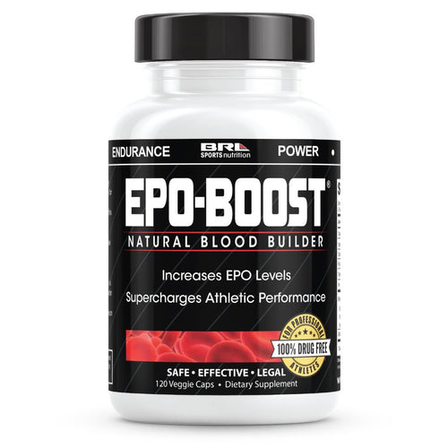 2019 EPO-Boost® – Natural Blood Builder 120 Capsules EPOBOOST