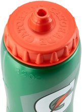 Gatorade 'G' Squeeze Bottle, Clear Hydro-View strip, High Flow Valve 32oz