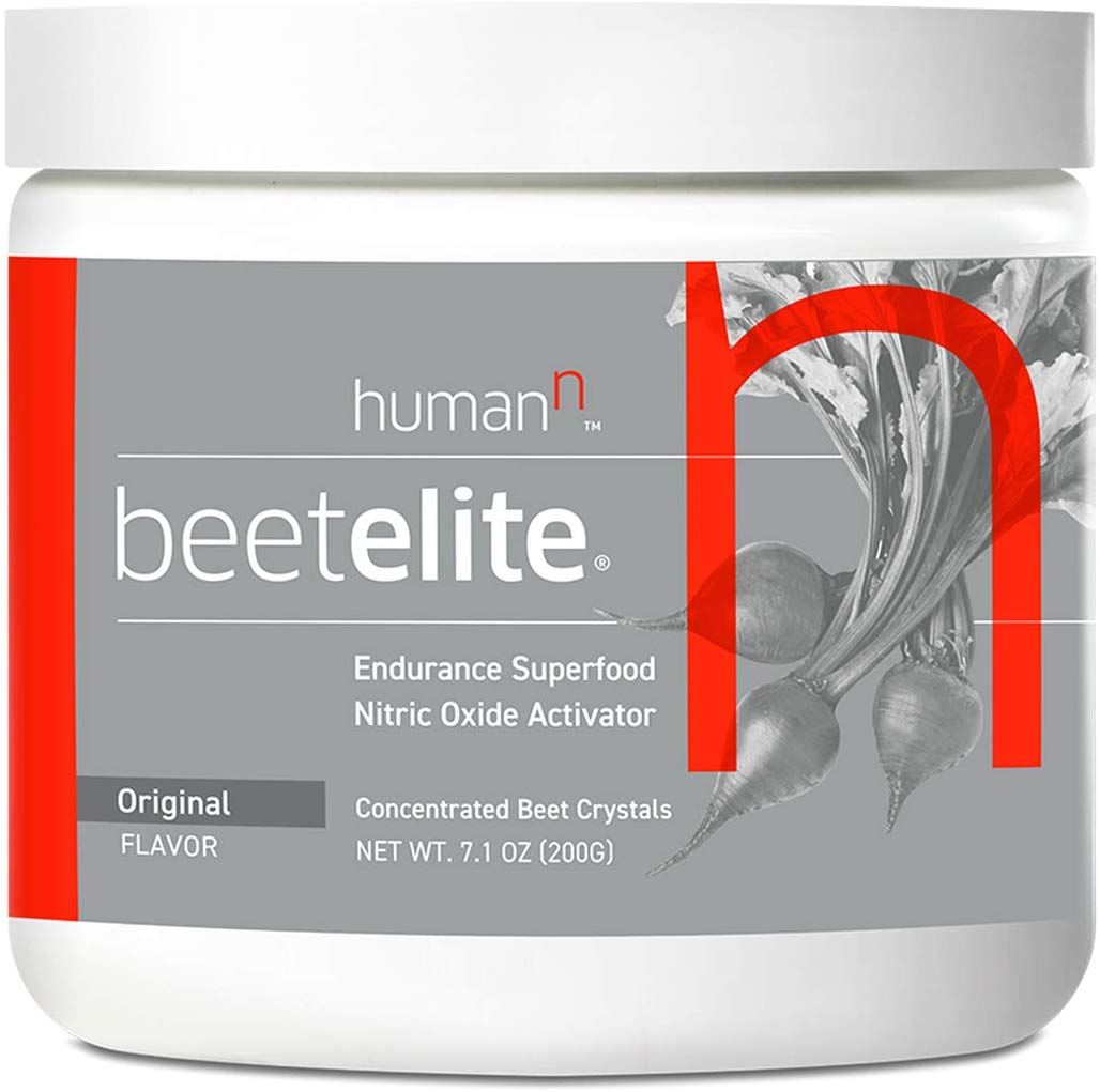 HumanN BeetElite | Superfood Concentrated Beet Powder Nitric Oxide Boosting Athletic Endurance Supplement 7.1oz (20 Serving)