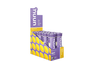 Nuun Rest: Relaxation & Rest Aid Drink Tablets, Lemon Chamomile and BlackBerry Vanilla Mixed Pack, Muscle Relaxer, Stress Relief, Sleep & Recovery Supplement, Box of 8 Tubes (80 Servings)