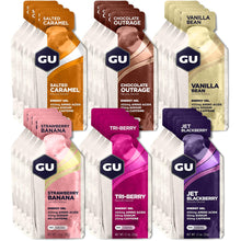 GU Energy Original Sports Nutrition Energy Gel, 24-Count Box | Free 2-day Shipping