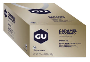 GU Energy Original Sports Nutrition Energy Gel, 24-Count Box | Free 2-day Delivery
