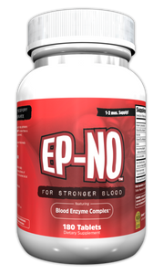 EP-NO Natural Red Blood Builder 180 Tablets, BSCG Certified