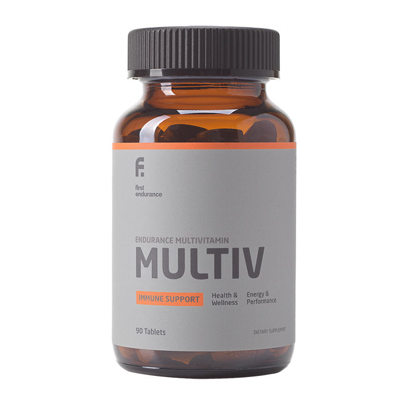 2021 First Endurance Multi-V | 90 Tablet Multi-Vitamin 30 Day Supply by 1st Endurance