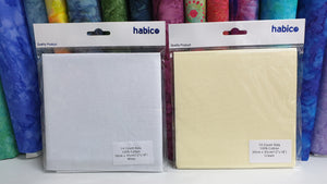 Habico 14 Count Aida Fabric in White or Cream