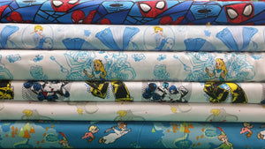 licensed Fabric - Fabric Collection - Price Is Per Half Meter