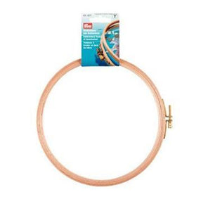 Prym Embroidery Frame Polished Beechwood w screw P611677