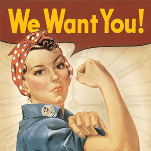 We Want You! - We're Hiring!