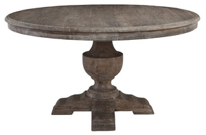 Round Dining Table 55""
