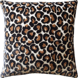 Hunter Leopard Pillow