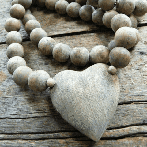Prayer Beads-Heart