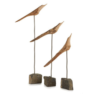 The Flock, Set of 3 Natural