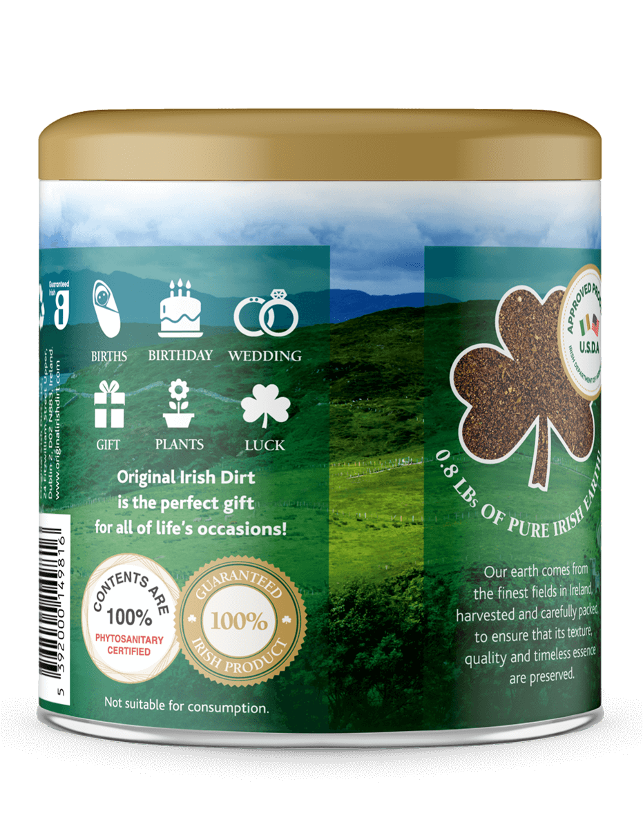 Original Irish Dirt gift - Give a little piece of Ireland to your loved ones