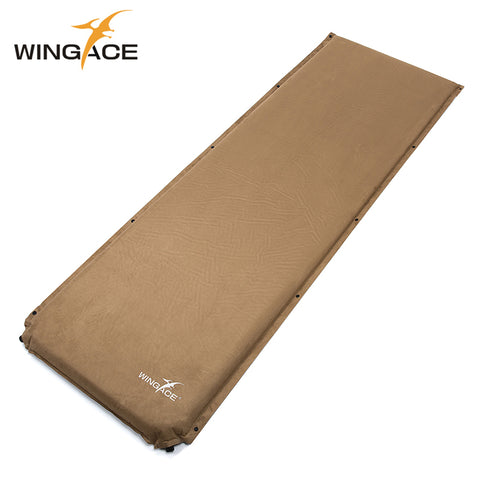 Thick 8CM Suede Inflatable Camping Mat Outdoor Folding Camp Bed Tent Sleeping Pad Air Mat Tourist Automatic Inflatable Mattress