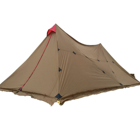 3f ul gear 8-12 Person Outdoor Camping Tent Large Tarp Sun Shelter 7*4m A Tower Base Camp Tents Fast Delivery to Japan