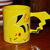Pikachu Coffee Mug with Tail Handle