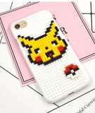 Pokemon Lego Block iPhone Cases (6/6S/7/8/X and Plus versions)
