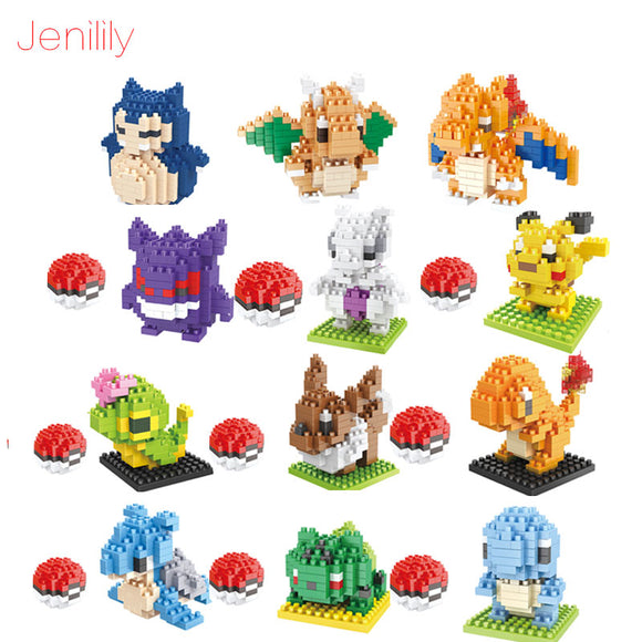 Pokemon Nanoblock Toys (Generation 1)