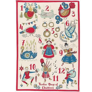 Now Designs 12 Days of Christmas Swedish Dishcloth